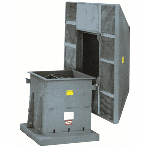 Series 15F Direct Drive Hooded Roof Ventilator, Filtered Intake | Hartzell Air Movement