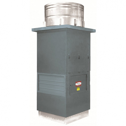 Series 26 Direct Drive Up Blast Recirculating Roof Ventilator | Hartzell Air Movement