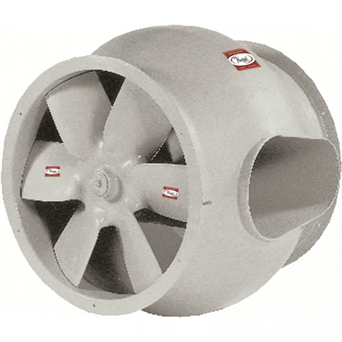 Series 29B Fiberglass Direct Drive Bifurcated Duct Axial® Fan | Hartzell Air Movement