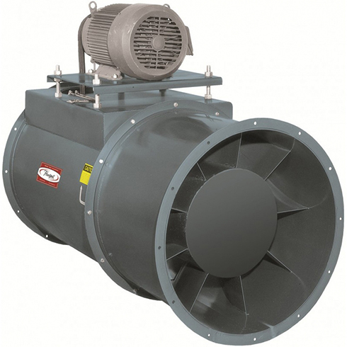 Series 55 Belt Drive Vaneaxial Fan, High Temperature | Hartzell Air Movement