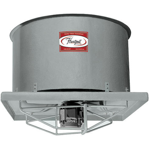 Series 57 Fiberglass Upblast Ventilator — Direct Drive | Hartzell Air Movement