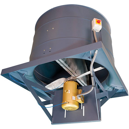 Series 61 Direct Drive Upblast Roof Ventilator | Hartzell Air Movement