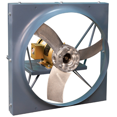Series 02R Direct Drive Panel Fan, Reverse Flow | Hartzell Air Movement