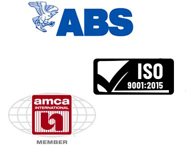 ABS, ISO and AMCA certifications