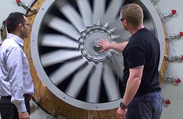 AMCA certified industrial fan testing facility