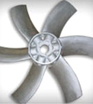 Patent received on adjustable pitch prop design on Axial Duct Fan AL prop to increase efficiency