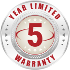 Hartzell Air Movement 5-Year Warranty