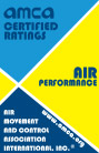 AMCA air performance certification