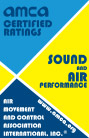 AMCA sound and air performance certification
