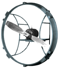 series 01R Direct Drive Ring Fan, Reverse Flow