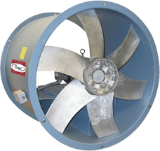 Hartzell Series 39M Marine Duty Direct Drive Adjustable Pitch Duct Fan