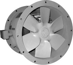 Hartzell Series 44M Marine Duty Direct Drive Duct Axial Fan