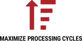 maximize processing cycles