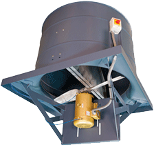 series 61 Direct Drive Upblast Roof Ventilator, Heavy Duty